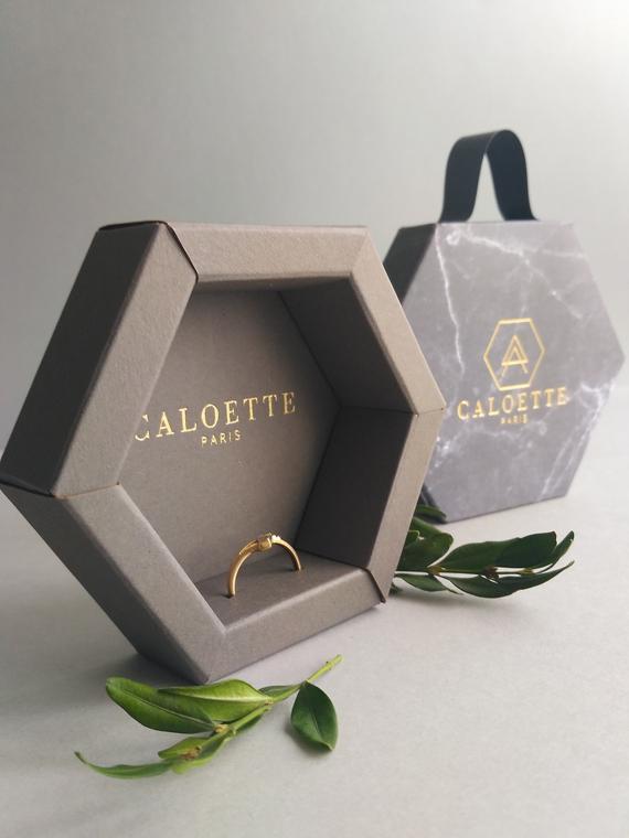 Photo of Embalagem de jóias 50pcs | caixa de presente para jóias | Anel de embalagem …