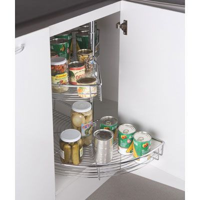 Gen rico repisa esquinero interior para mueble de cocina for Mueble cocina sodimac