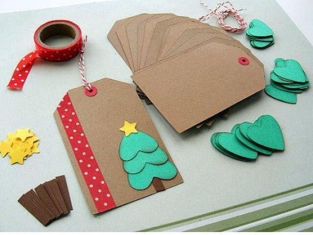 Christmas tag = cartões de natal