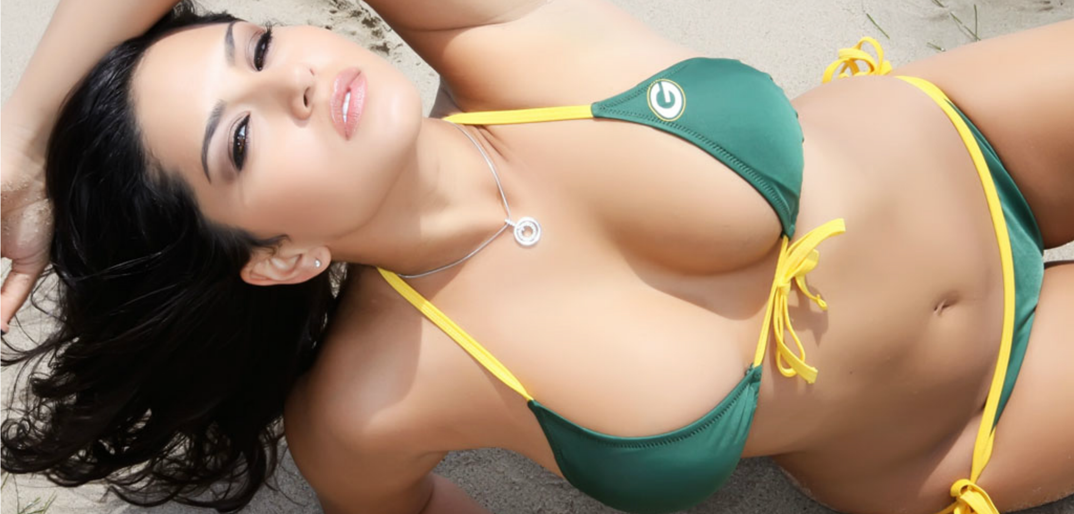 Green bay bikini girls
