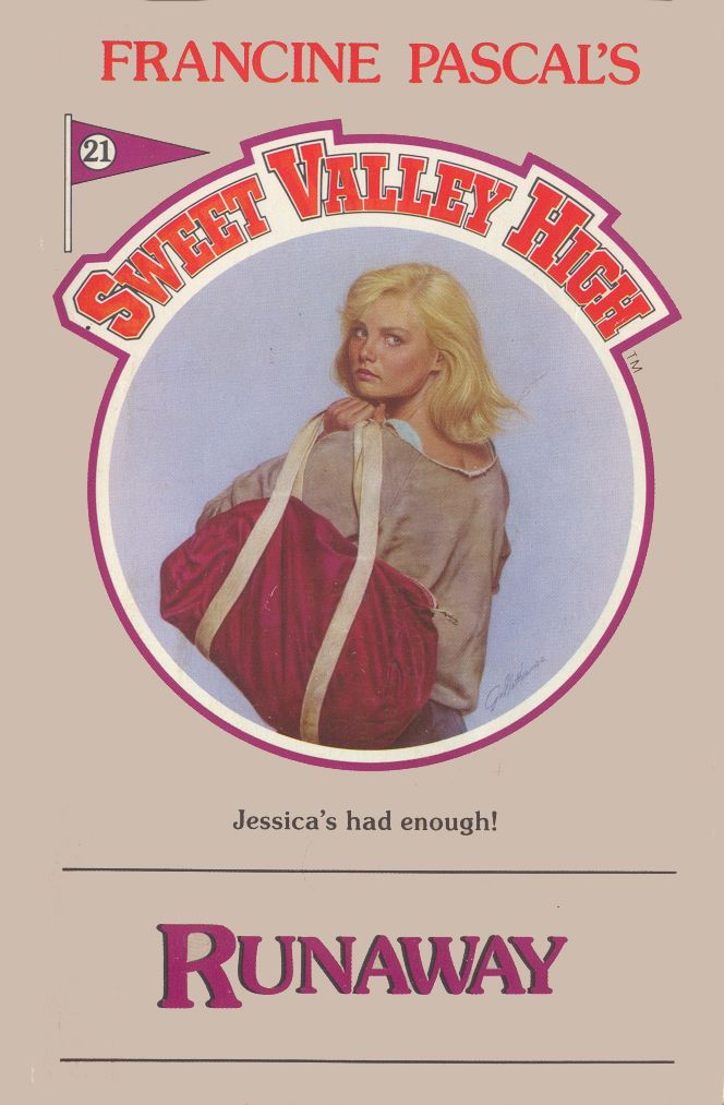 Sweet Valley High 21 - Runaway-- had the whole collection including sweet valley twins!!