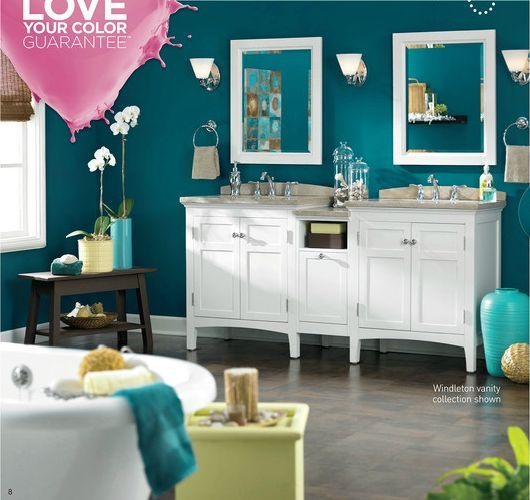 Feminine Bathroom Paint Colour Schemes Uk