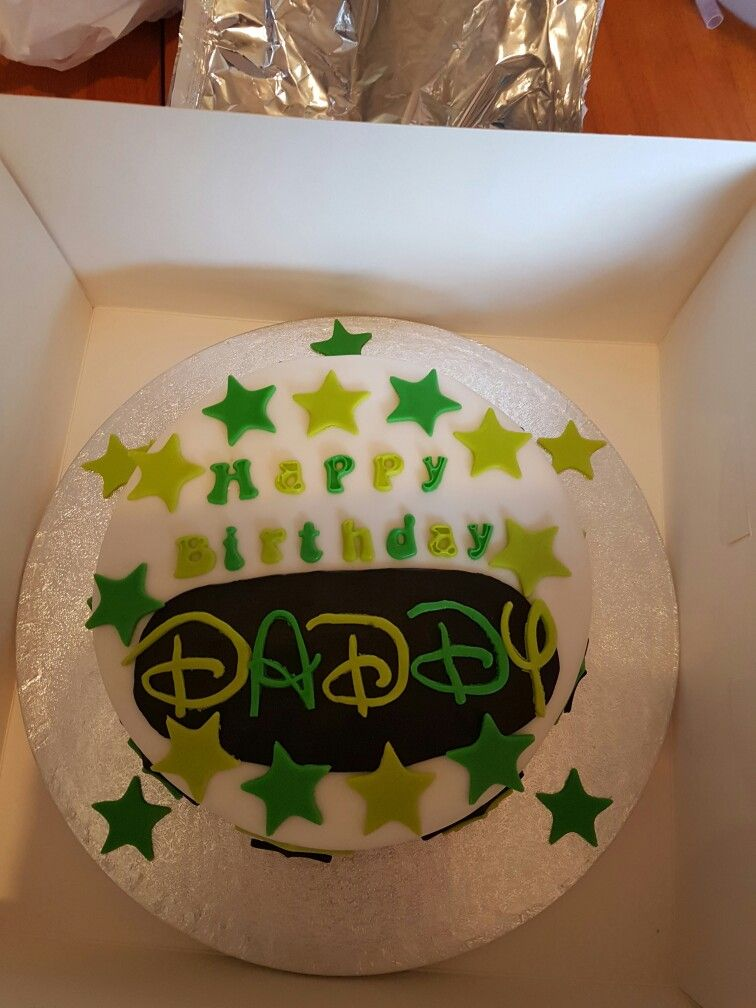Happy Birthday Daddy Cake Mn Ngon Cy Pinterest Happy