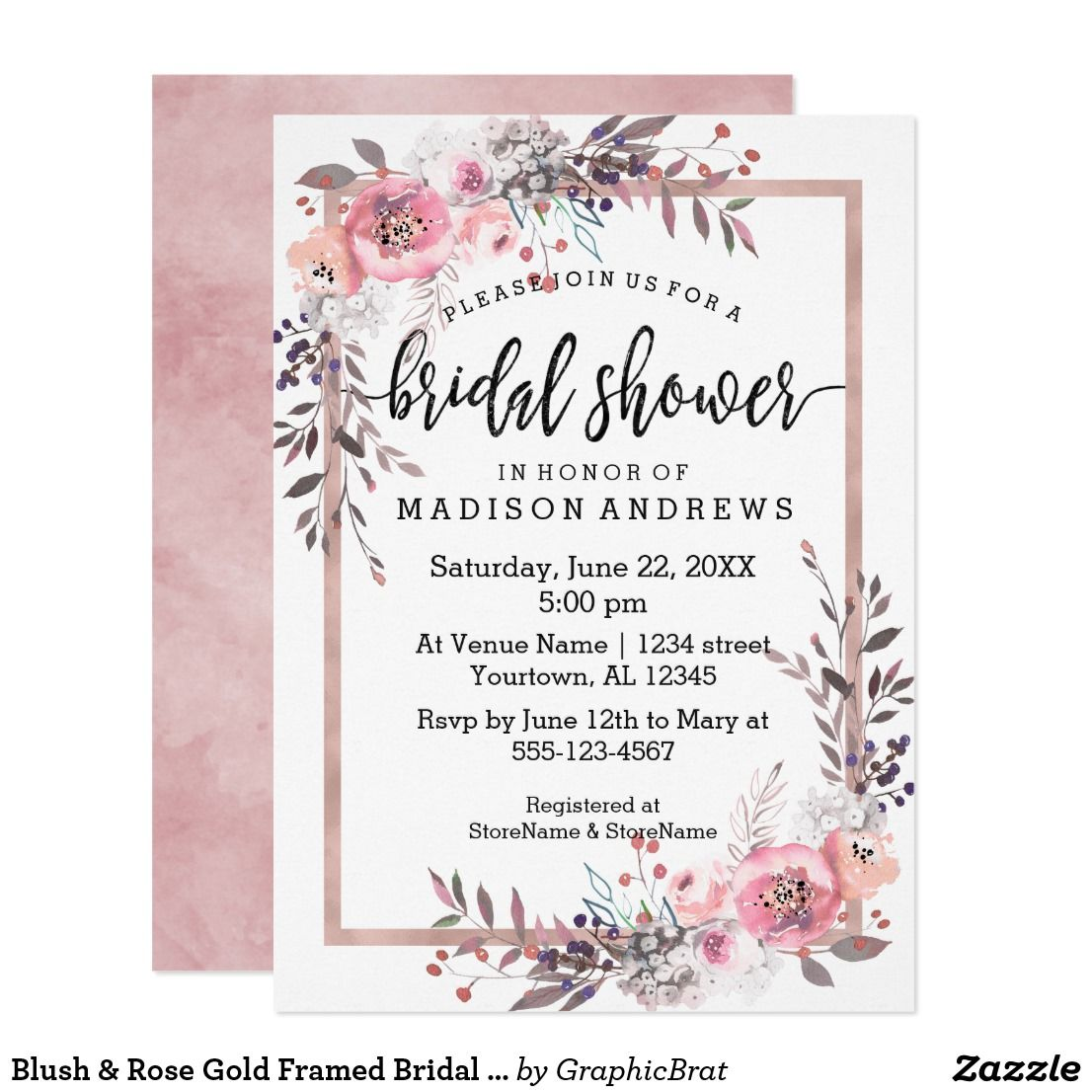 Peony Blush Pink Gold Bridal Shower Invitations Zazzle Com In 2020 Peony Wedding Invitations Gold Bridal Shower Invitations Gold Wedding Invitations