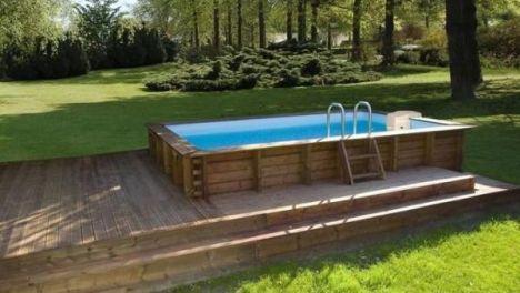 piscine hors sol projets essayer garden pool pool decks et in ground pools. Black Bedroom Furniture Sets. Home Design Ideas