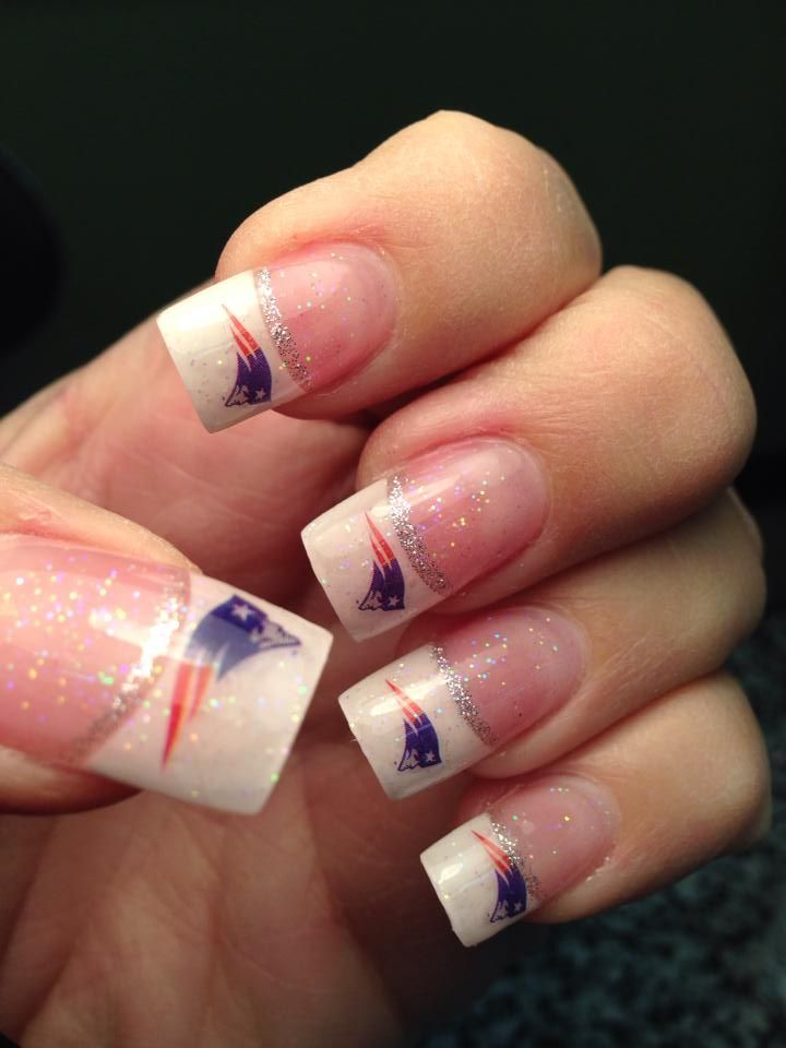 My New England Patriots Nails