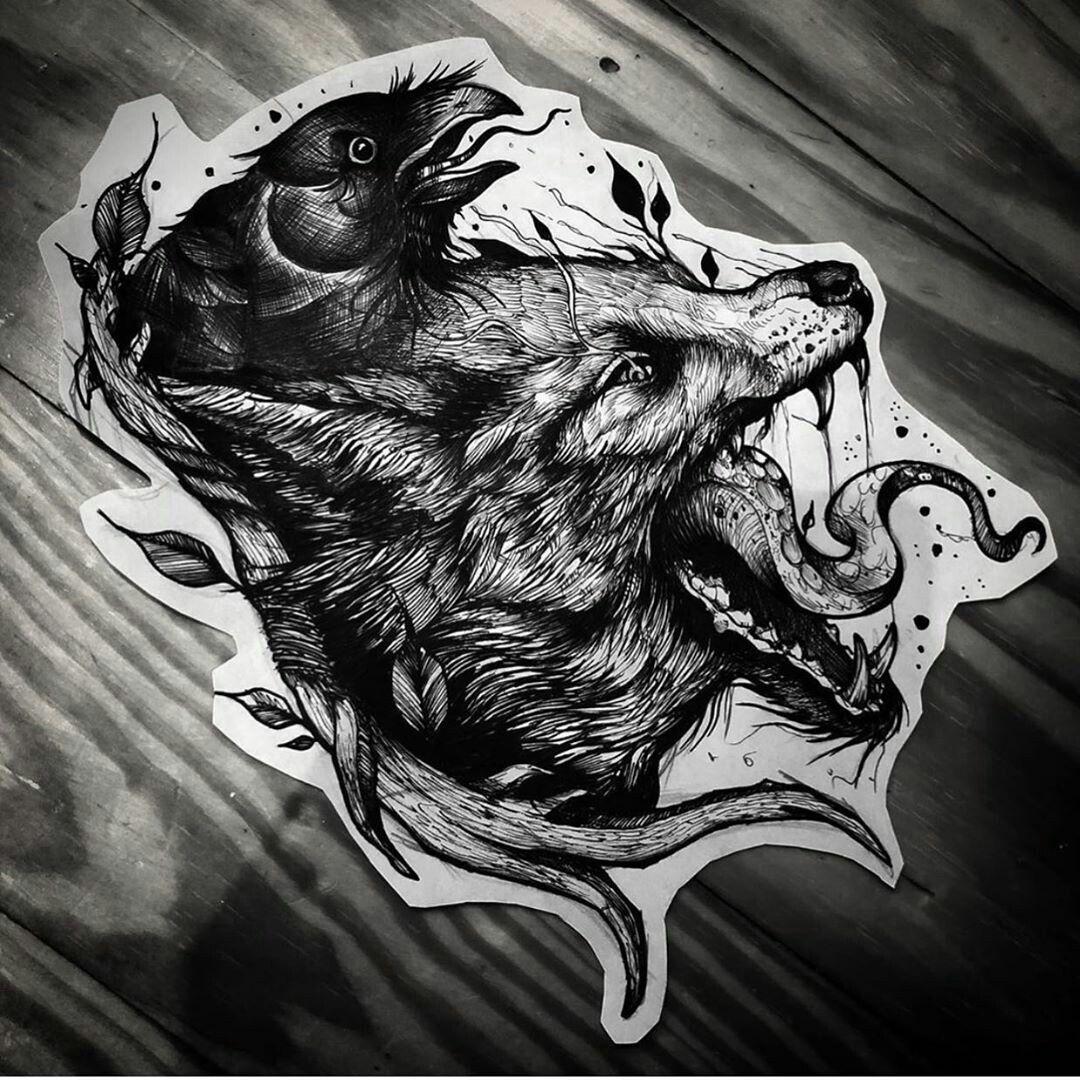 Пин от пользователя Nvvvk Rvvvk на доске sketch tattoo (с