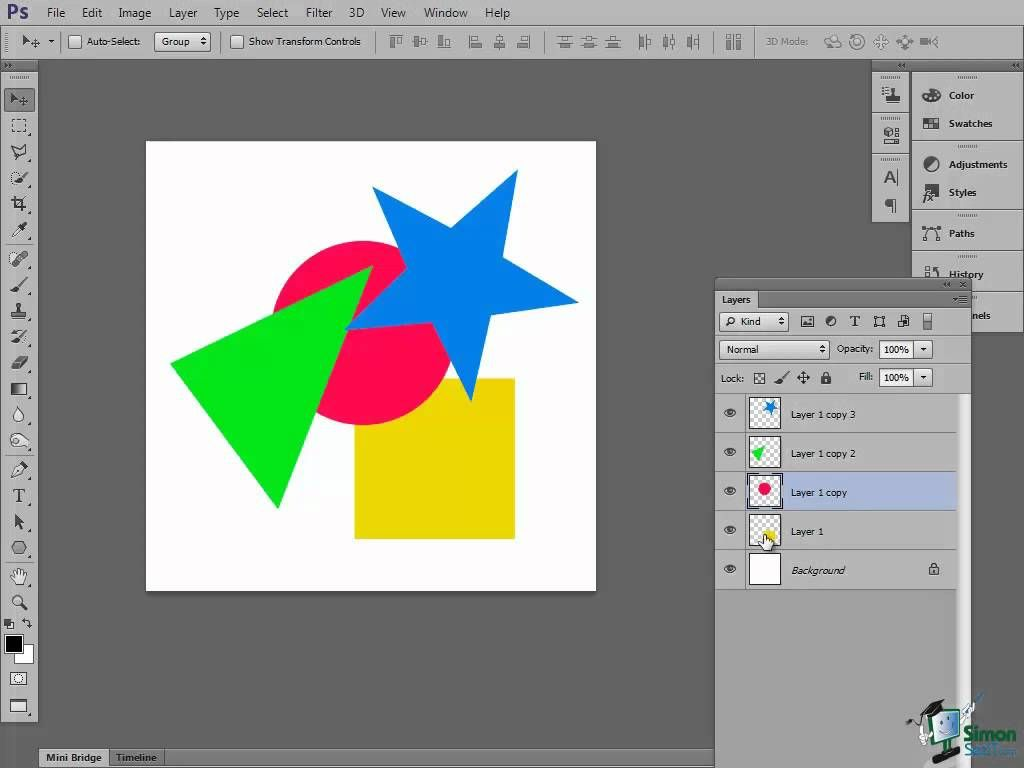 Photoshop Cs6 Tutorial Introduction To Layers