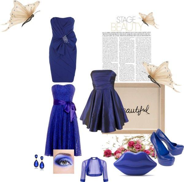 """""""Something blue"""" by vivian-van-den-berg on Polyvore"""