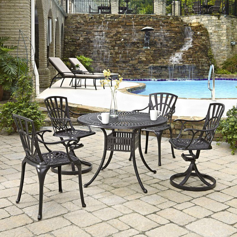 round 5 piece patio dining set 5560 308 products patio dining