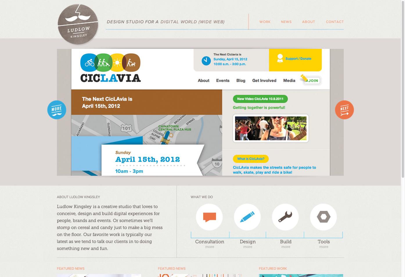 Ludlow Kingsley Los Angeles Web Design Web Design Firm Web Design Web Development Design