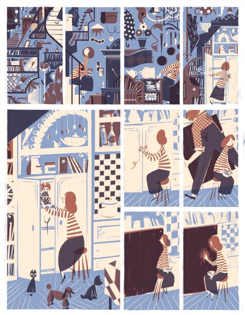 roman muradov illustrations personajes comic ilustraciones et c mic. Black Bedroom Furniture Sets. Home Design Ideas