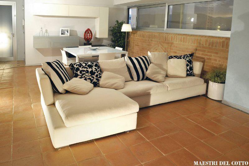 Pavimento In Cotto Arredamento Moderno Arredare Casa Con Stile