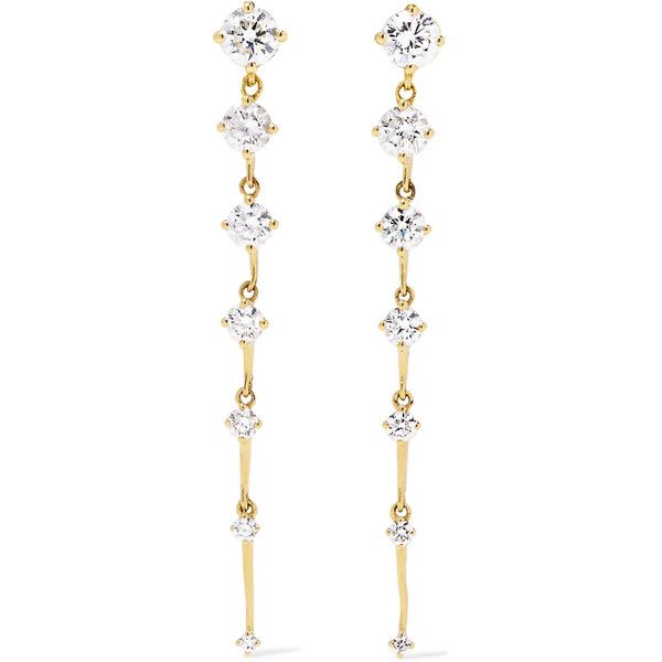 Diamond & yellow-gold Sequence earrings Fernando Jorge Latest Discount cTS2aPDPZe