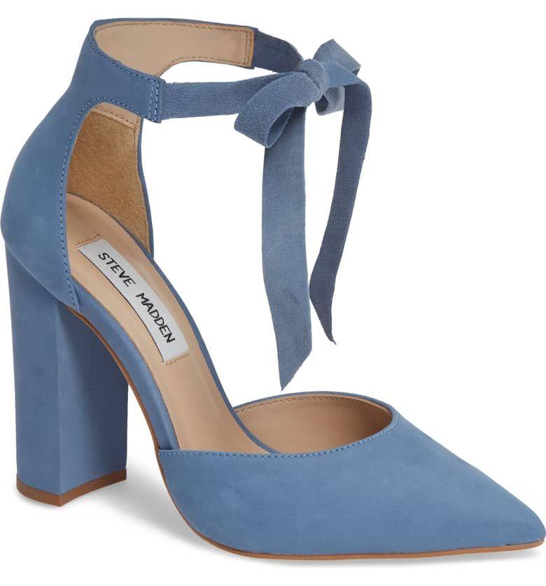 ec1f03b911b Pearl Pump, Main, color, BLUE NUBUCK | Wedding Shoes in 2019 | Shoes ...