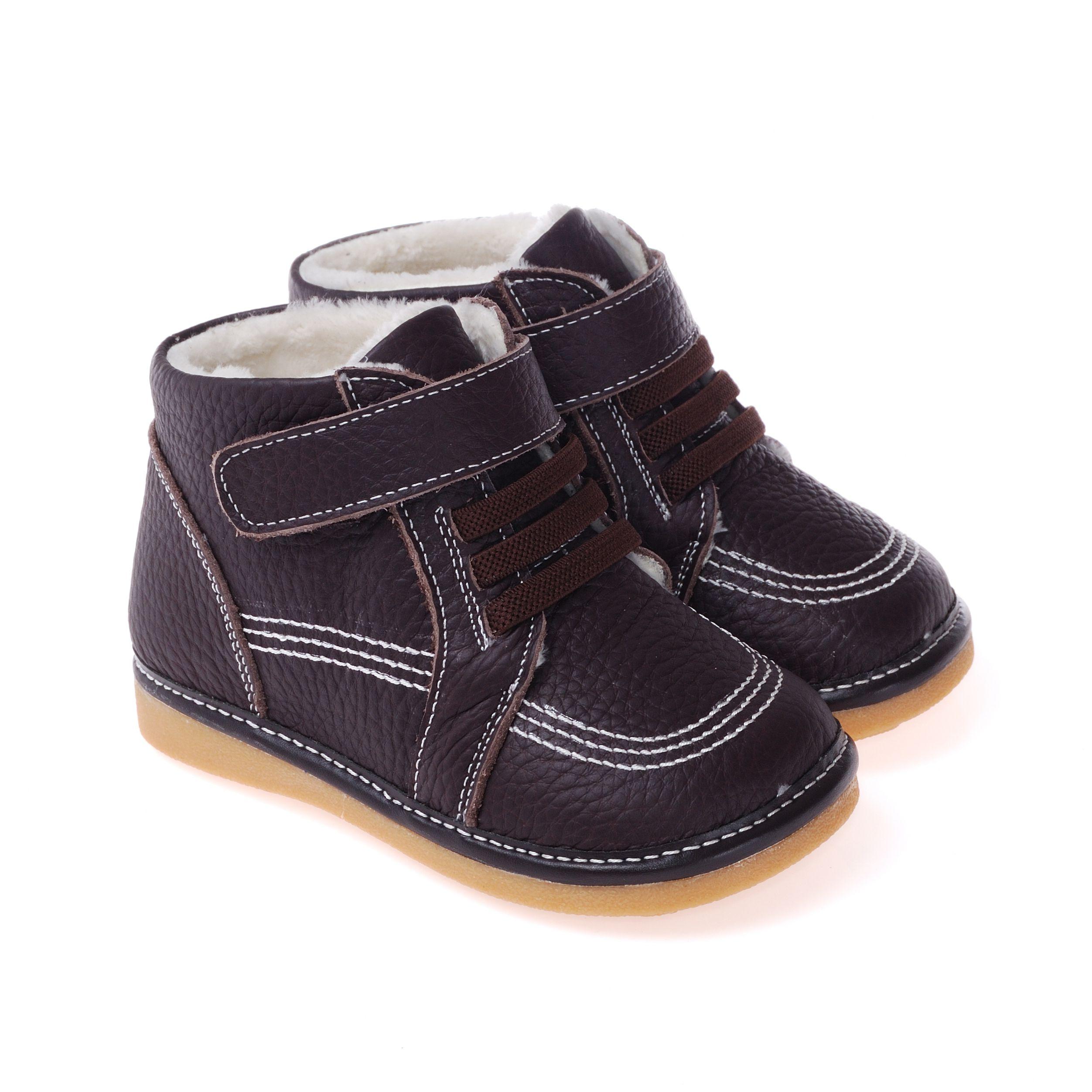 de222d35d Caroch | Jake Boots | Boys | Tiptoe & Co Boys genuine leather boots in  Chocolate