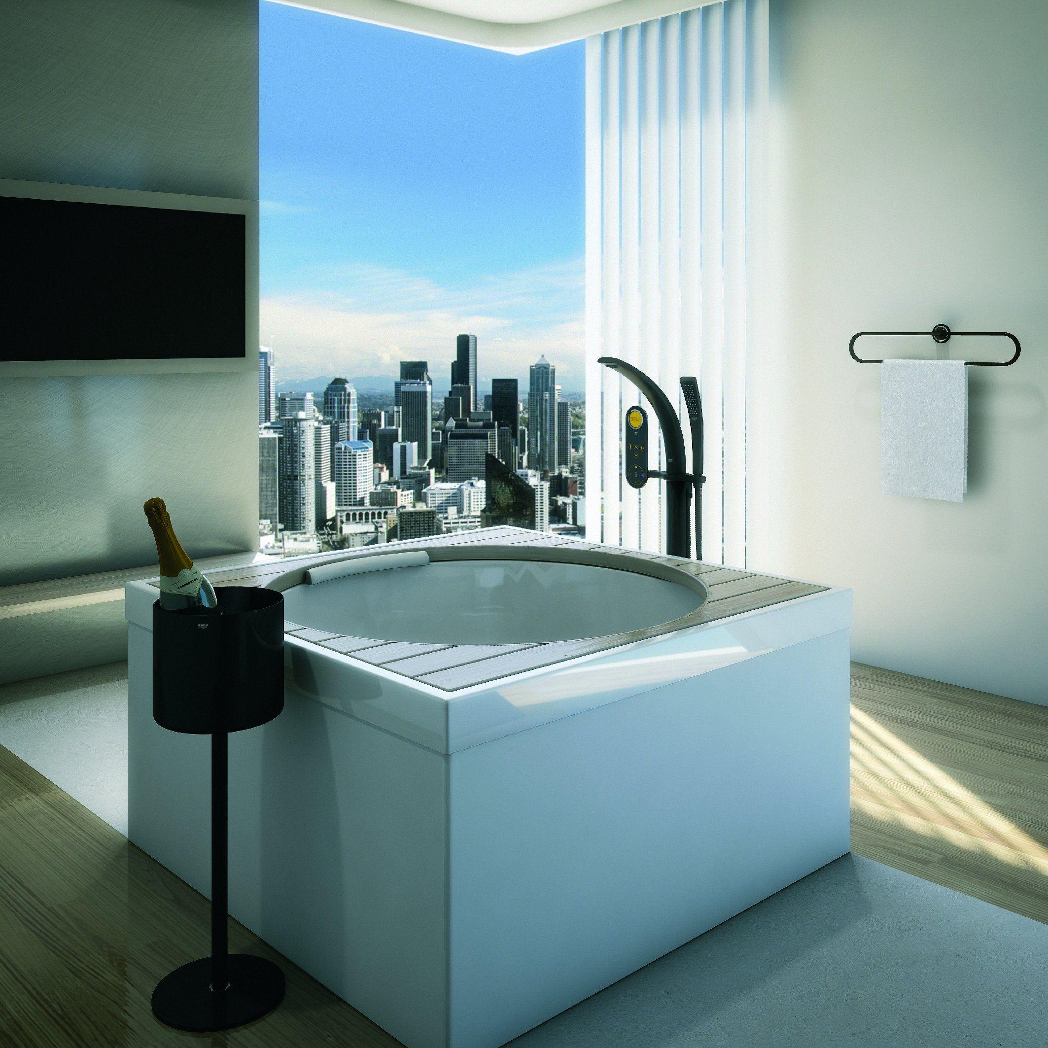 Amazing bathtub by Grohe | Hardware | Pinterest | Bathtubs, Medicine ...