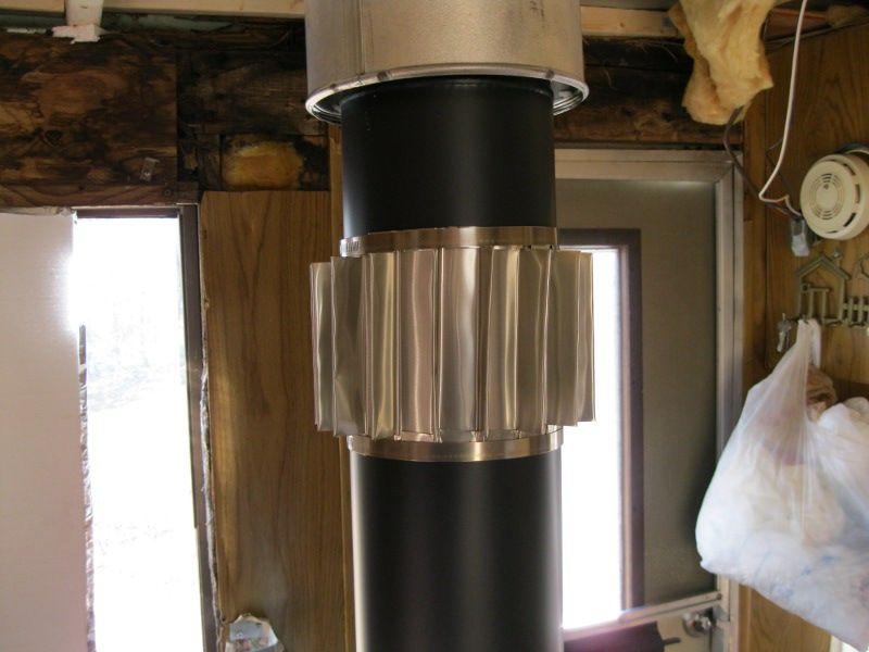 DIY - Make A Passive Woodstove Heat Exchanger - DIY - Make A Passive Woodstove Heat Exchanger Homestead - Off