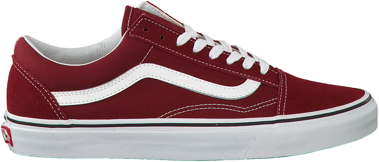 Rode VANS Sneakers OLD SKOOL MEN | My Style Vans sneakers