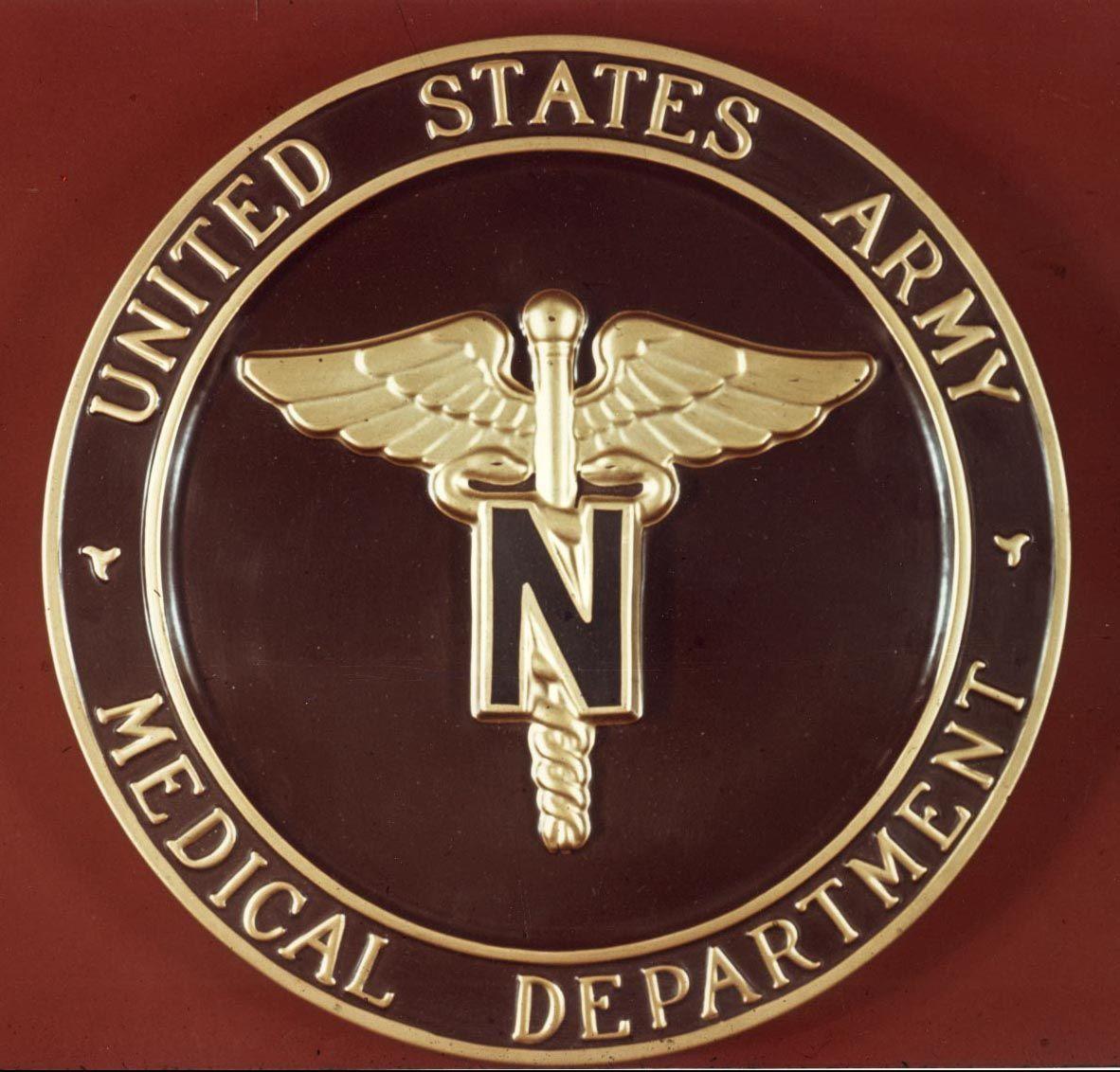 Logo pin of Army Nursing Corps Army nurse, Military