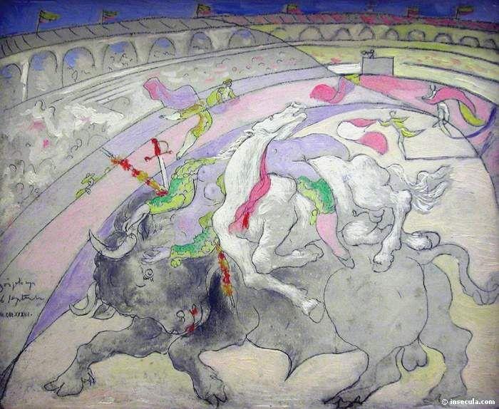 1933 Corrida La Mort De Femme Torero Picasso DrawingPablo PicassoSpain RacingSpanish