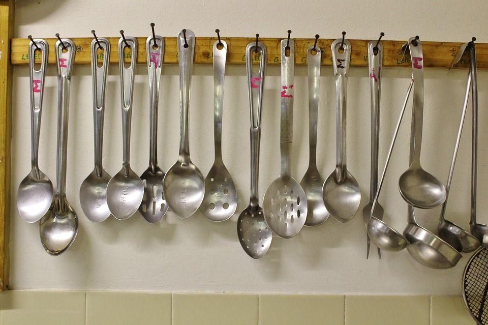 Cucharones de cocina se utilizan mas en la preparacion for Cucharones de cocina