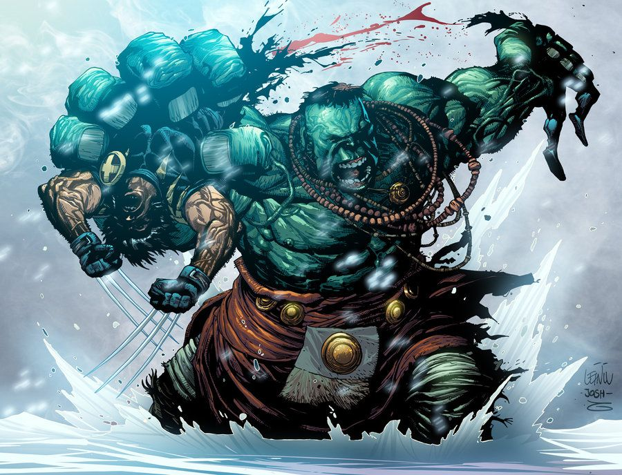 #Hulk #Fan #Art. (Hulk versus Wolverine 03) By: GiovaniKososki. (THE * 3 * STÅR * ÅWARD OF: AW YEAH, IT'S MAJOR ÅWESOMENESS!!!™)[THANK Ü 4 PINNING<·><]<©>ÅÅÅ+(OB4E)   https://s-media-cache-ak0.pinimg.com/564x/3d/6a/61/3d6a61d17ccbdf54453cd55a6cca50c6.jpg