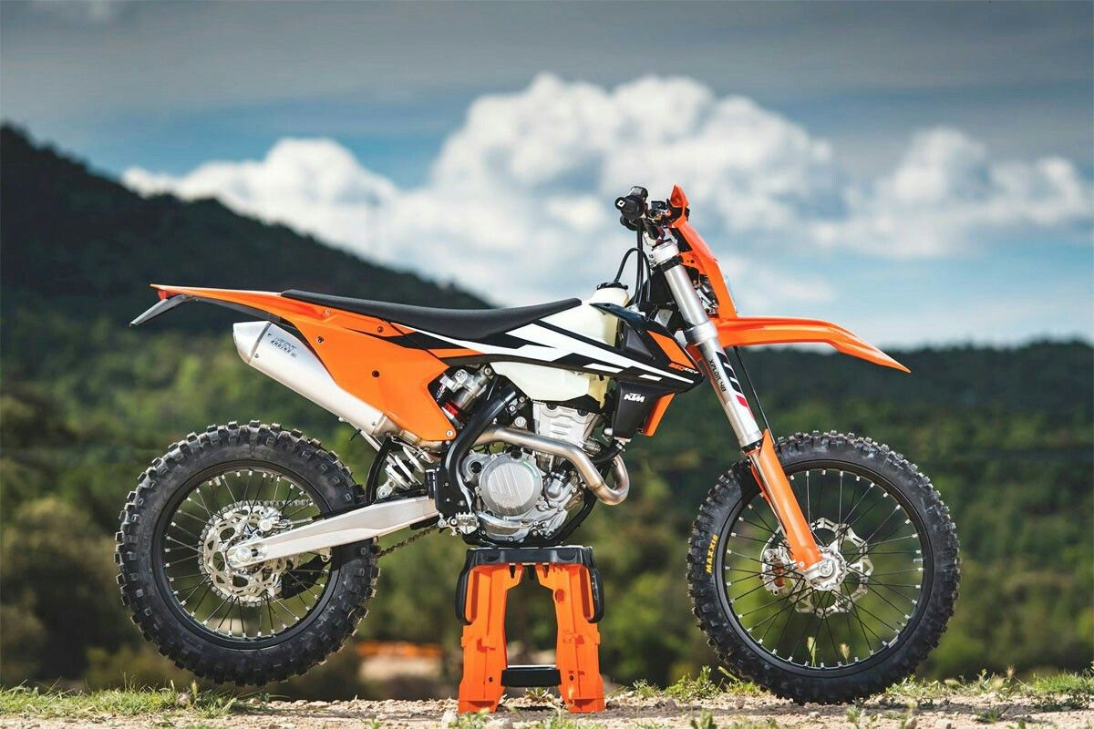 2017 ktm 500 exc-f -the only bike i could see better is the ktm