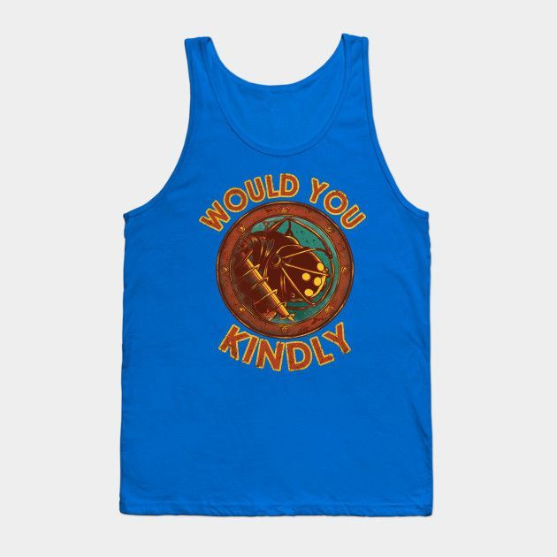 Would You Kindly - Mens Tank Top