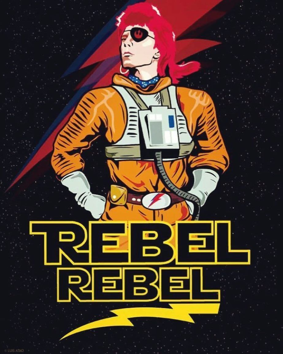 David Bowie T Shirt Song Titles Ziggy Stardust Queen Bitch Rebel Rebel Heroes