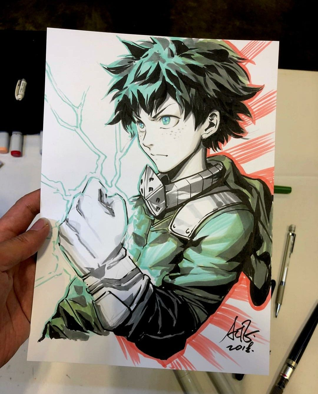 Deku drawing Anime drawings, Anime, Sketches