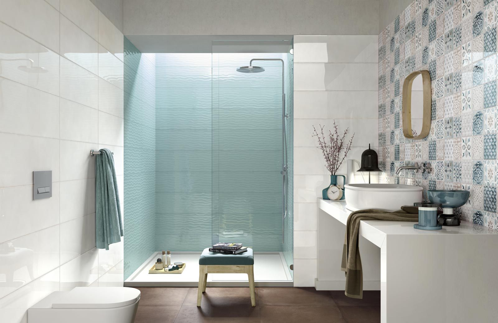 Bathroom Flooring in Porcelain Stoneware | Ragno | Ideas for the ...