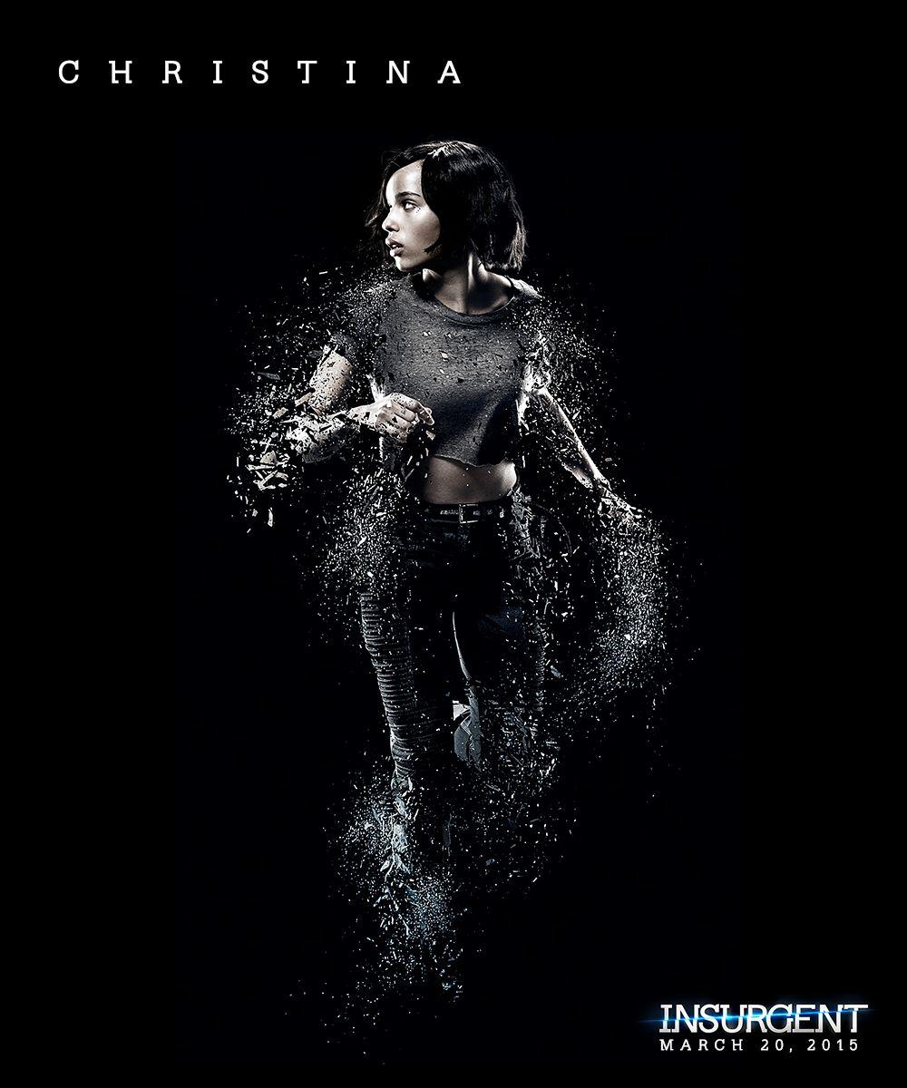 Zoe Kravitz Shines As Christina In This 3d Insurgent Poster Avec