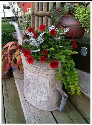 Pin de Lu Anderson en FLOWERS Pinterest Jardinería, Plantas y Jardín - maceteros para jardin