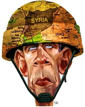 The US with Iran in Syria by Seyed Hossein Mousavian. (Illustration by Pedro Molina). Read the full article here: http://www.pinterest.com/pin/284712007666365877/