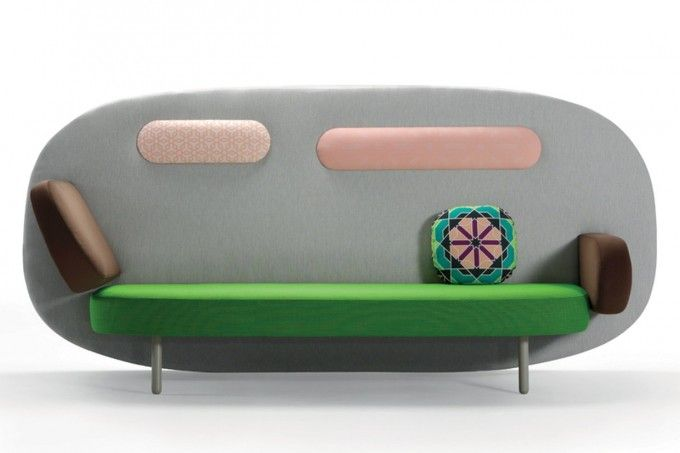 Float Sofa In Kids Room Ideas Using Karim Rashid Furniture Plus Shag Rug