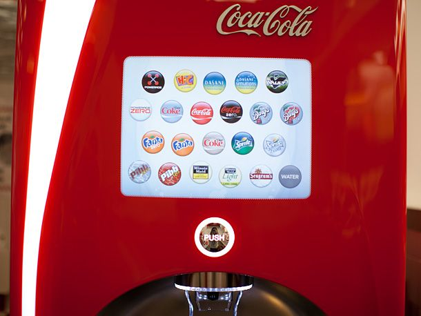 Soda We Try All 127 Flavors From The Coke Freestyle
