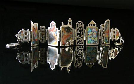 Brunswick Bracelet By Maggie Bergman Metal Clay Jewelry Art Jewelry Magazine Metal Clay