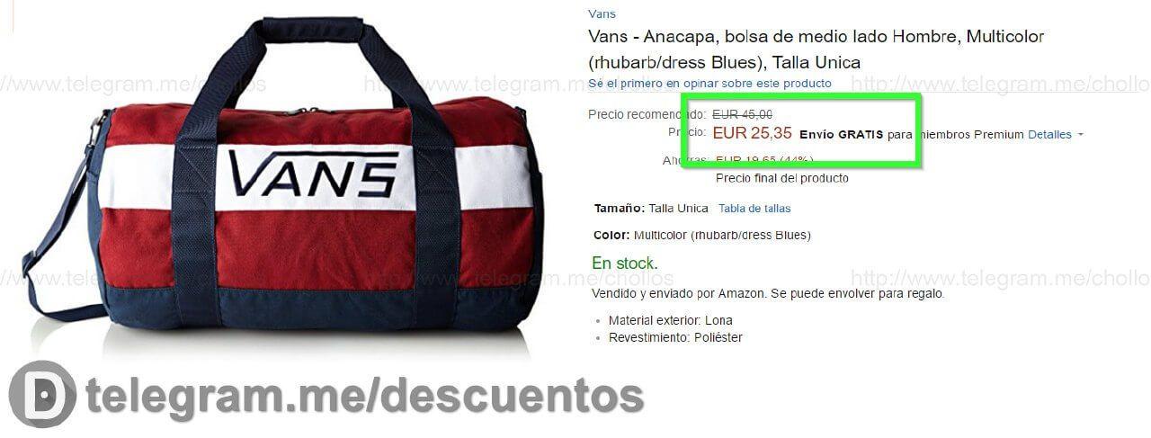 mochilas vans precios, VANS ANACAPA II Bolsa de deporte