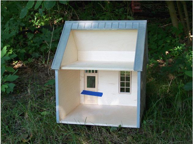 Beach House Dollhouse Kit - The Magical Dollhouse