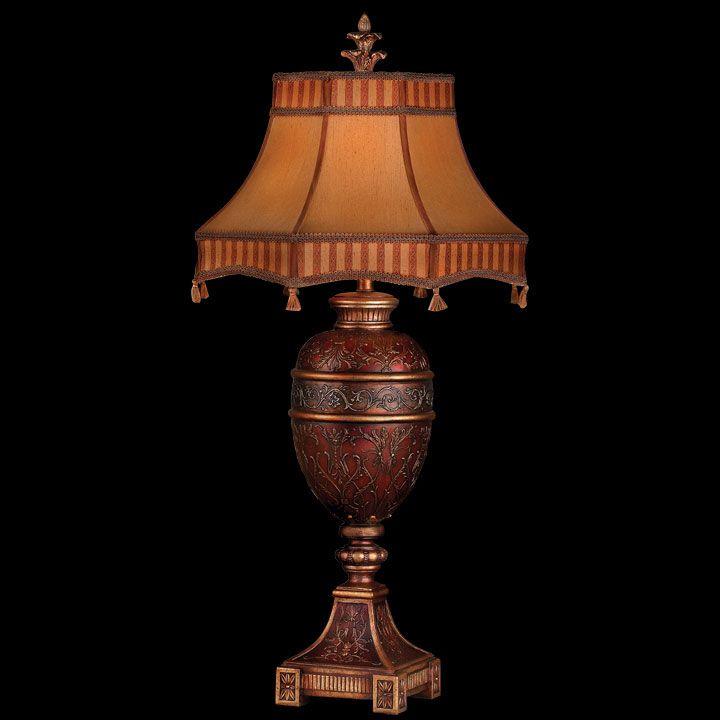 Fine Art 305010 Brighton Pavillion Claret Finish 36 Inch Tall Victorian Table Lamp - FIN-305010
