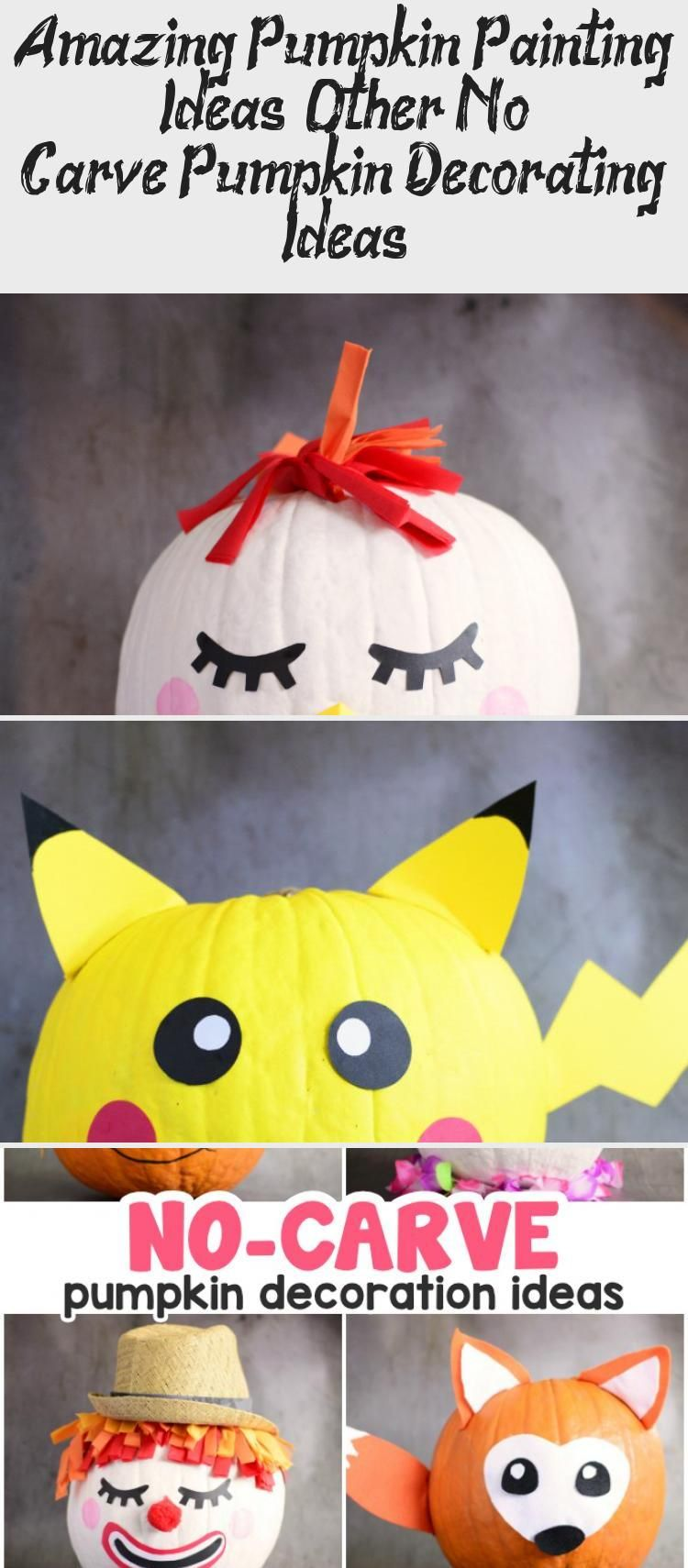 Amazing Pumpkin Painting Ideas & Other No Carve Pumpkin Decorating Ideas #Pumpkinpaintingideas #Bathroompaintingideas #Cutepaintingideas #paintingideasPeople #paintingideasInspiration #pumpkinpaintingideas