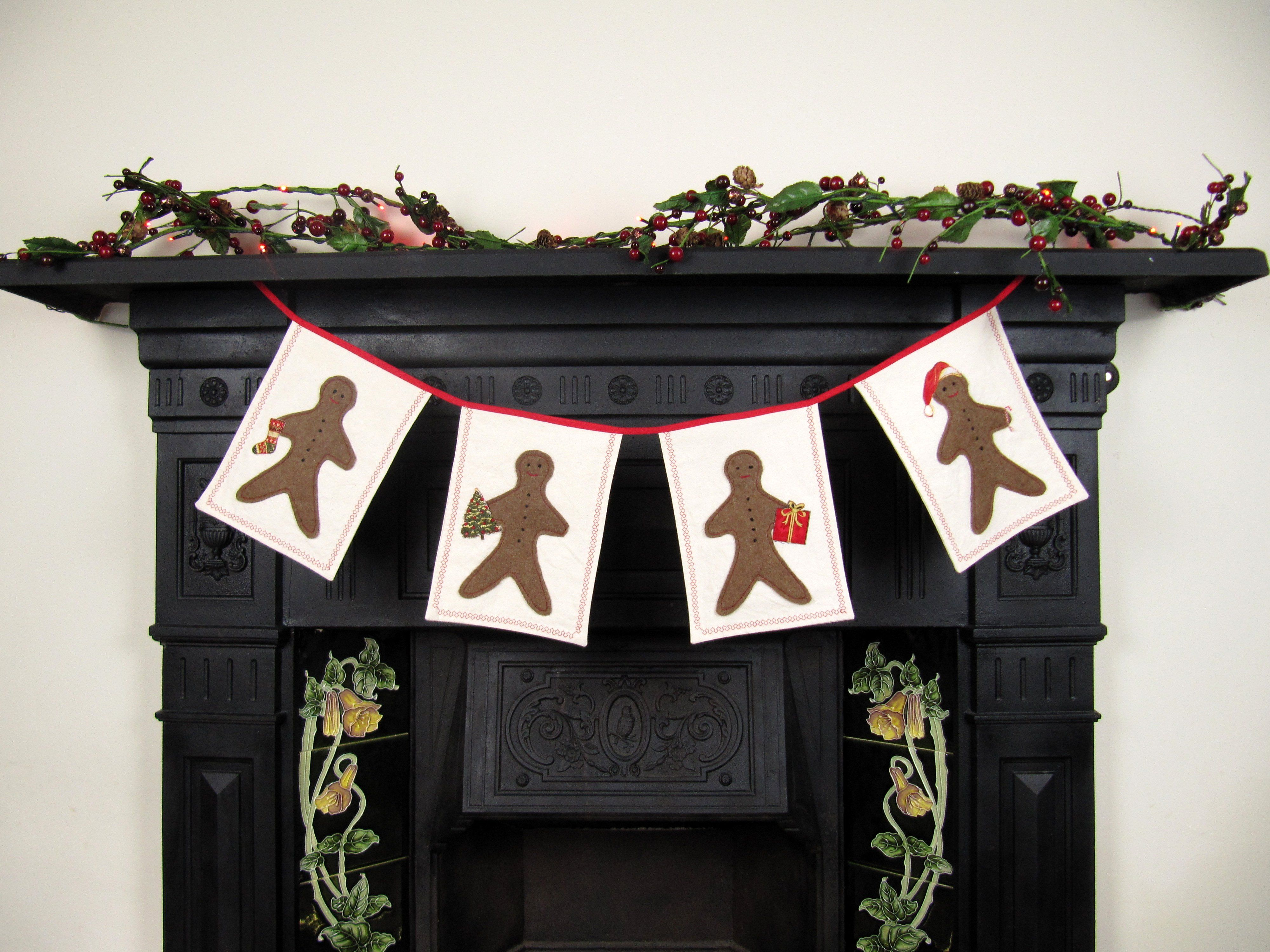 Learn to make a characterful and joyful Christmas garland (with your own personal twist) with me