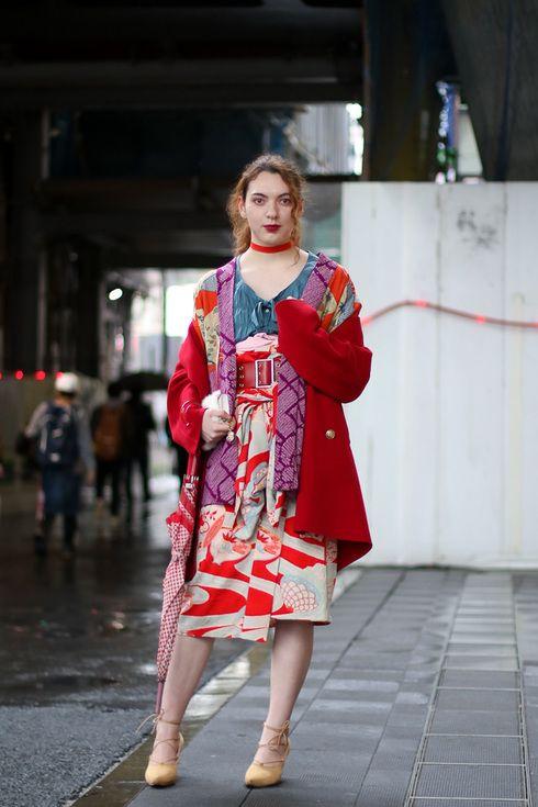 Street Style - 渋谷 - 福士 亜聖さん - FASHIONSNAP.COM ...