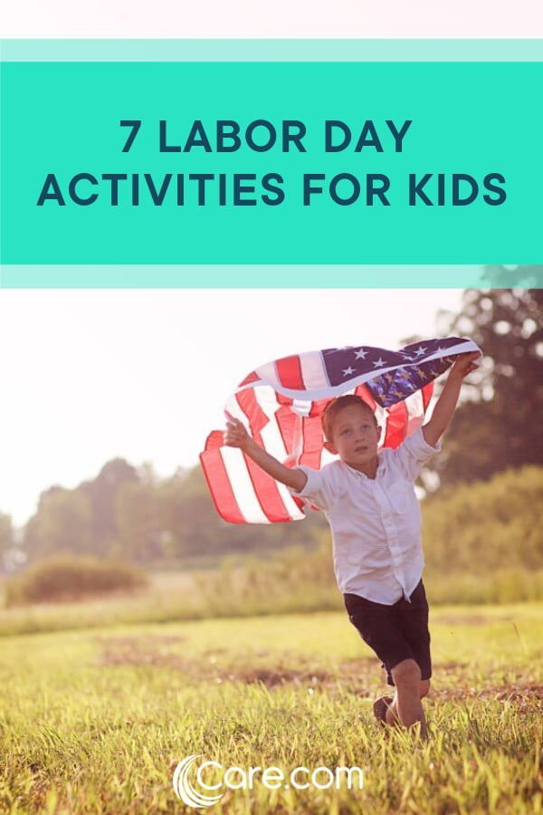 7 Labor Day activities for kids #labordaycraftsforkids 7 Labor Day Activities For Kids - Care.com #labordaycraftsforkids