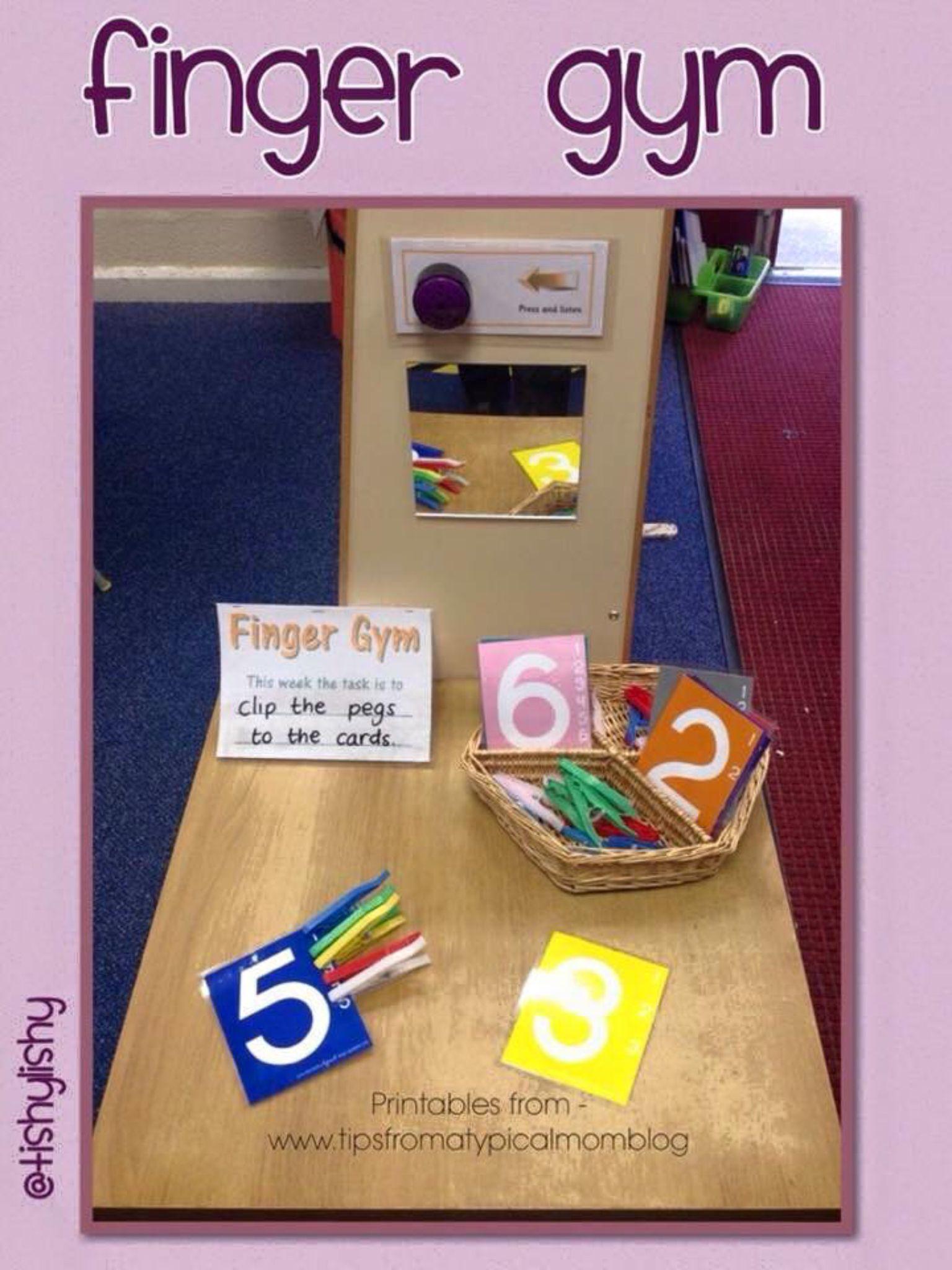 Finger Gym Activities Finger Gym Fine Motor Skills Activities Preschool Fine Motor