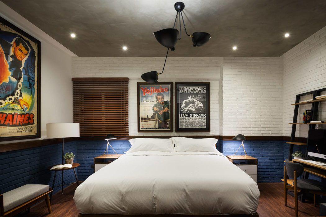 Bedrooms Midcentury Apartment by Vera Montes De
