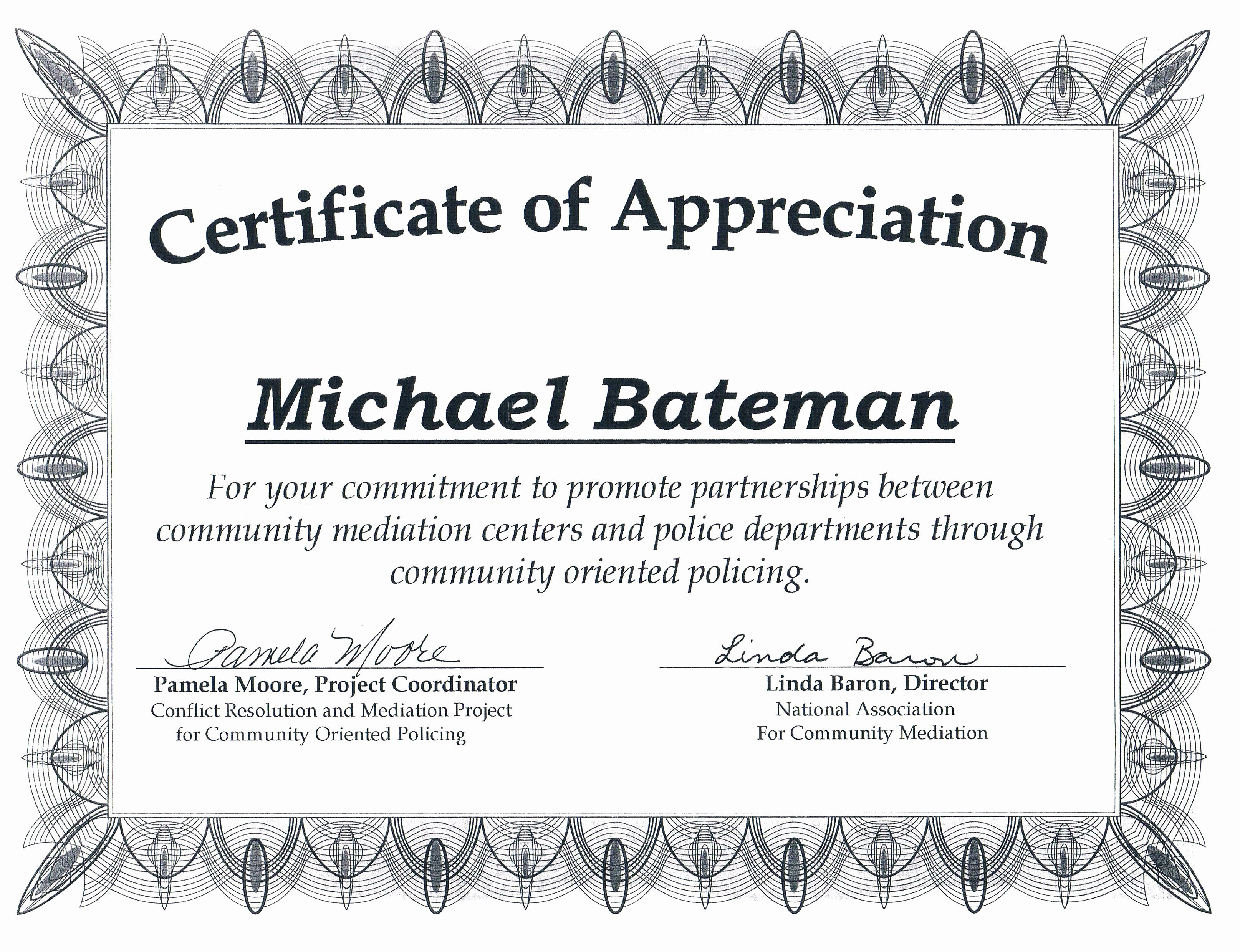 Community service certificate template free luxury munity