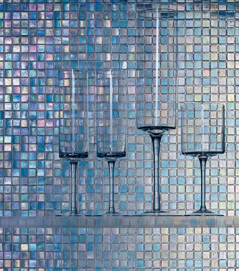 Glass Mosaic Tile The Water Glass Collection Sicis Glass Mosaic Tiles Mosaic Tiles Mosaic Glass