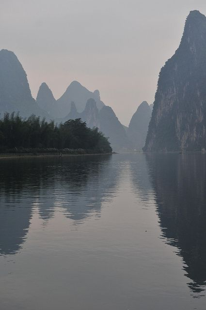 Li River, Guilin, China by ohmytrip, via Flickr